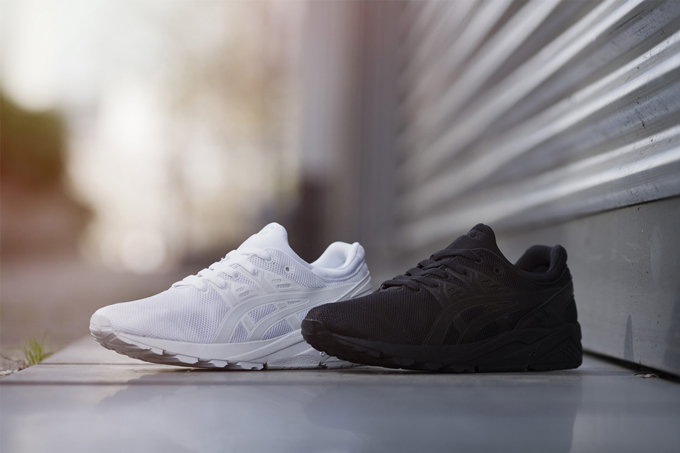 asics tiger kayano evo white