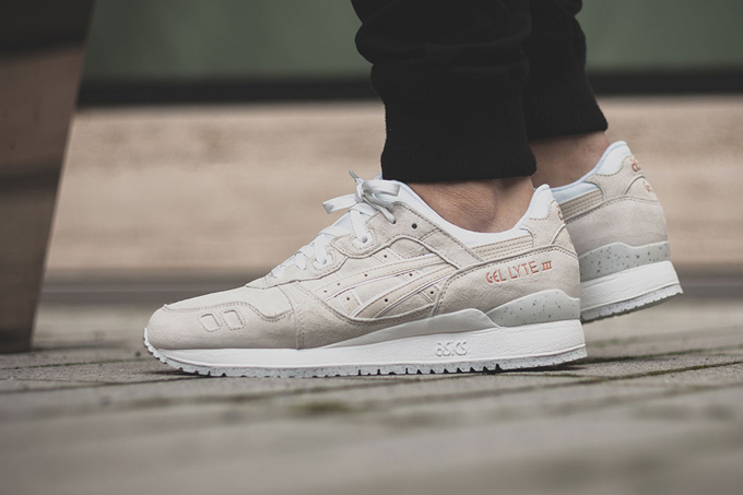 asics rose gold trainers