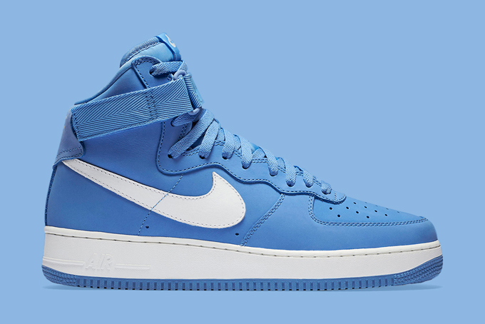 Nike Air Force 1 High Baby Blue - The