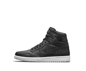nike air jordan 1 high cyber monday leather Black White Dark Grey 555088-006 p