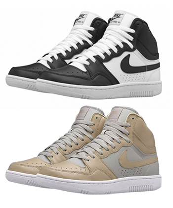 nike x undercover court force bamboo black white grey p