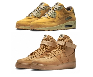 nike air force 1 flax wheat bronze air max 90 winter premium p