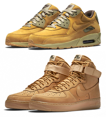 wholesale dealer 6d1bd fd562 ... buy nike air force 1 flax wheat bronze air max 90 winter premium p  41f2e 6e41d
