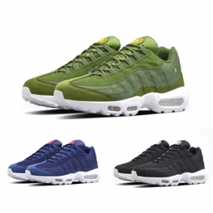 nike air max 95 x stussy olive navy black white f