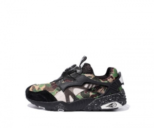 puma x bape disc blaze camo black collection blaze of glory r698 f