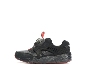 puma x trapstar disc blaze black red p