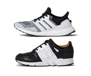 new product 40693 b2792 adidas consortium x sneakersnstuff sns tee time pack gold ultra boost guidance  93 black white f