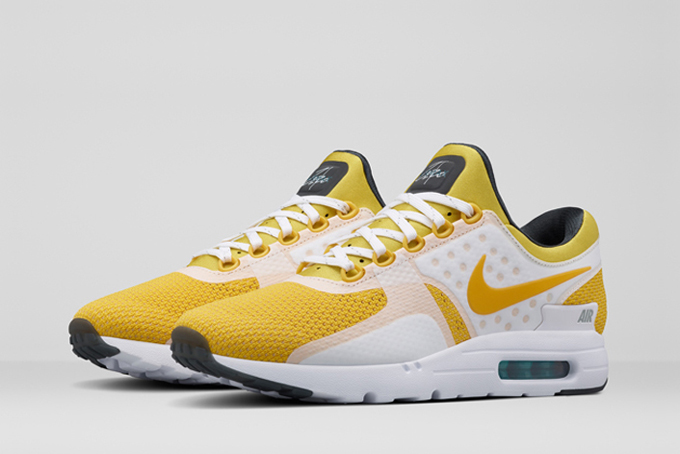new style 930ad dc3a0 nike air max zero yellow 1