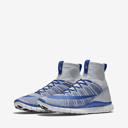reputable site b6b8d c6e42 Nike Free Flyknit Mercurial Superfly Wolf GreyGame Royal