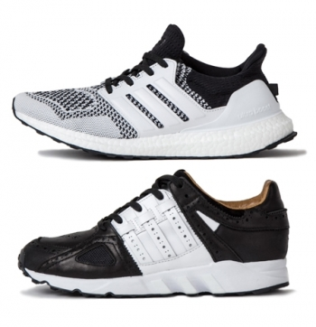online store 956c7 d990d ADIDAS CONSORTIUM x SNEAKERSNSTUFF TEE TIME PACK. Black   White