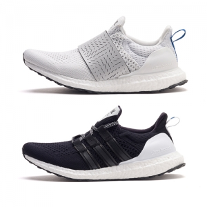 adidas consortium x wood wood ultra boost black white f
