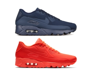 nike air max 90 ultra moire bright crimson 819477-600 midnight navy 819477-400 f