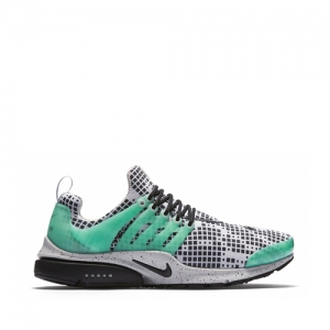 nike air presto gpx footpatrol White Black Green Glow Natural Grey 819521-103 f
