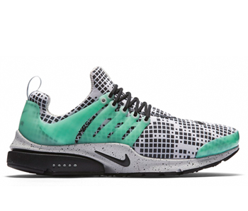 nike air presto gpx footpatrol White Black Green Glow Natural Grey 819521-103 p
