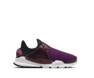 nike sock dart sp tech fleece tp Mulberry Black White 834669-501 f