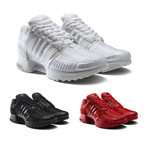 adidas climacool trainers black and white