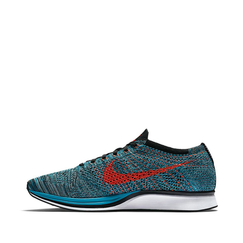 nike flyknit racer fire and ice Neo Turquoise-Glacier Ice-Bright Crimson 526628-404 f