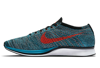 nike flyknit racer fire and ice Neo Turquoise-Glacier Ice-Bright Crimson 526628-404 p