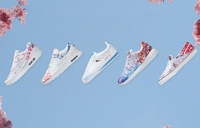 new arrival 4969a 7bae7 women s nike sportswear cherry blossom collection 1