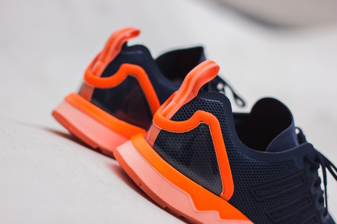 adidas originals zx flux blue and orange