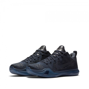 nike kobe x elite low black mamba pack fade to black collection dark obsidian 869458-441 f