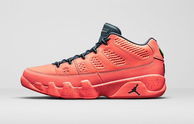 save off ae9d3 0ee73 Air Jordan 9 Retro Low Bright Mango - The Drop Date