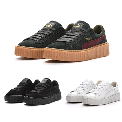 reputable site 19152 0cacf FENTY BY RIHANNA X PUMA SUEDE CREEPER - NEW COLOURWAYS ...