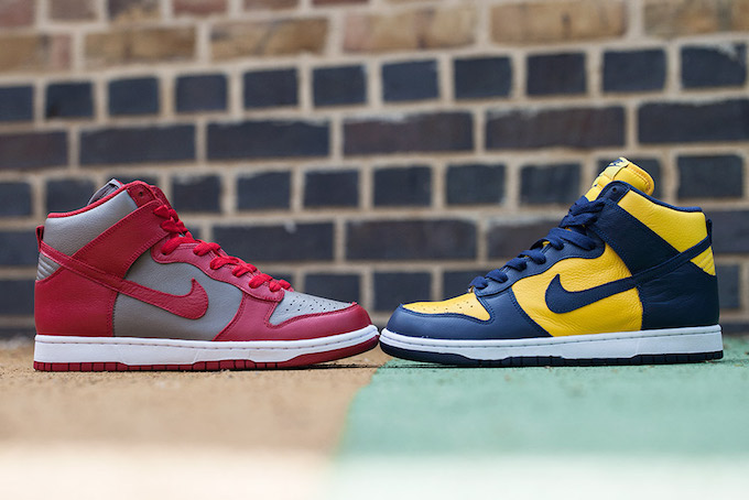 huge discount 47148 38662 nike dunk high be true to your school 5