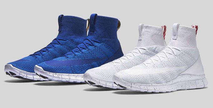 nike free flyknit mercurial superfly all white