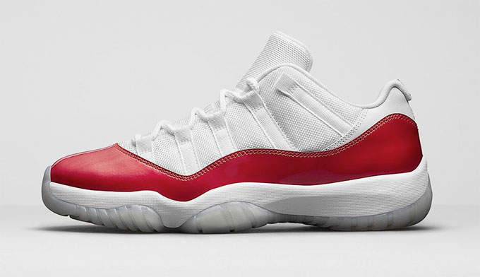 air jordan 11 retro low rouge