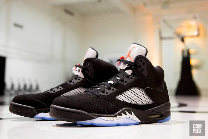 promo code 6ea69 6314c Nike Air Jordan 5 Black Metallic - The Drop Date