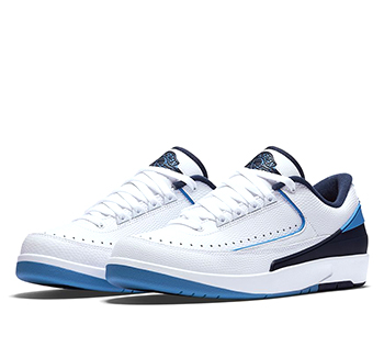 new concept 7c76b 99dc9 NIKE AIR JORDAN 2 RETRO LOW  MIDNIGHT NAVY