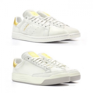 ADIDAS ORIGINALS STAN SMITH ROD LAVER 24K 999 NOBLE METALS PACK MAIN