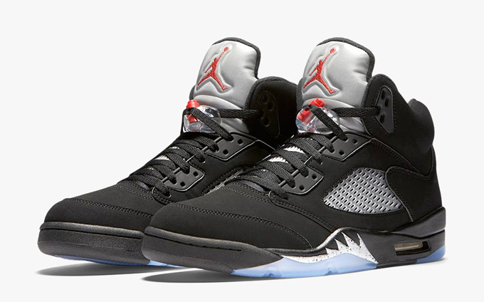 buy popular 67ce0 88ffc Air Jordan 5 Retro Metallic Silver