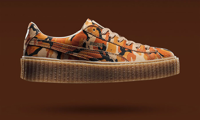 f9875eab14d3 Fenty By Rihanna x PUMA Suede Creeper Camo – Available Now
