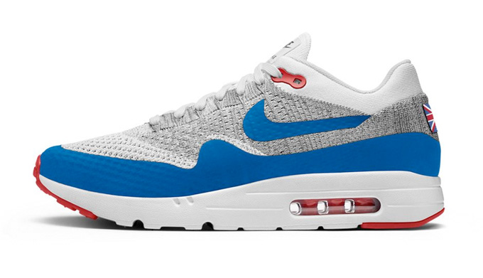a1492e07758a Nike Air Max 1 Ultra Flyknit iD - The Drop Date