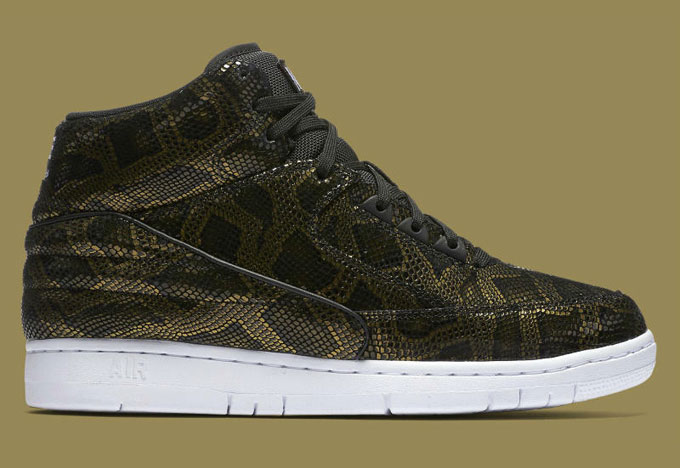 e7312ad7c22b7 Release Date; Nike-Air-Python-PRM-Black-Gold-side; Nike Air Python Red Detailed  Look ...