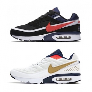 nike air max classic bw then and now USA olympic pack lead