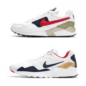 nike air pegasus 92 then and now USA olympic pack lead