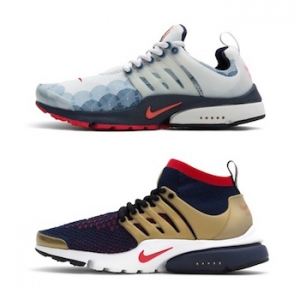 nike air presto ultra flyknit then and now USA olympic pack lead