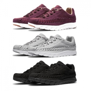 nike mayfly woven black grey night maroon main