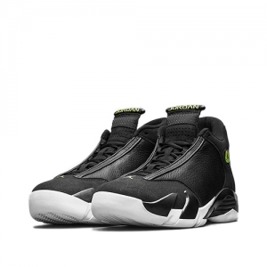 AIR JORDAN 14 RETRO BLACK VIVID GREEN