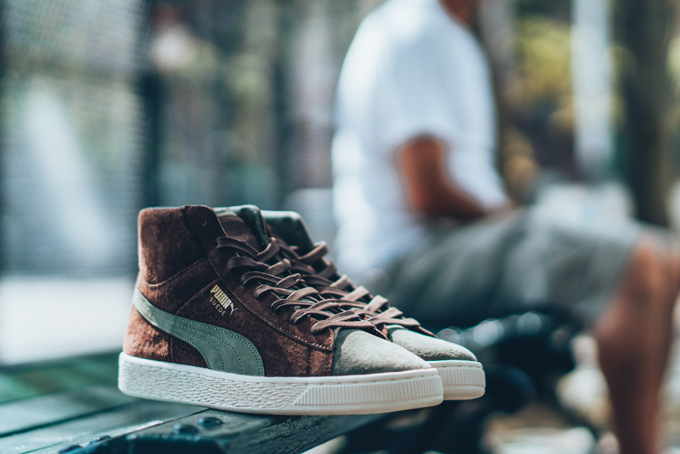 Bobbito Garcia x PUMA Suede Mid and Clyde Low f88c0f05c