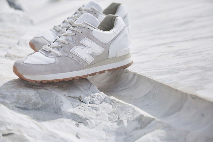 End X New Balance M575 Marble White The Drop Date