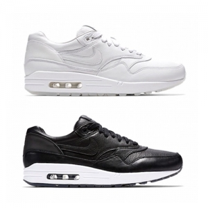 NIKELAB AIR MAX 1 DELUXE white black