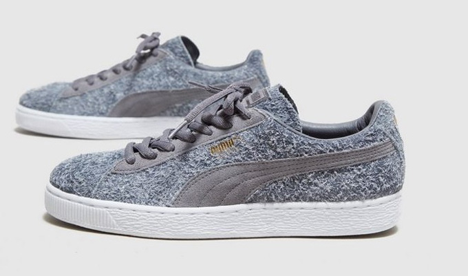 PUMA Suede Wooly - size? Exclusive Women's grey