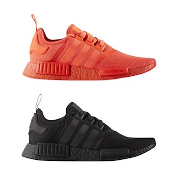 adidas originals nmd_r1 color boost red black white