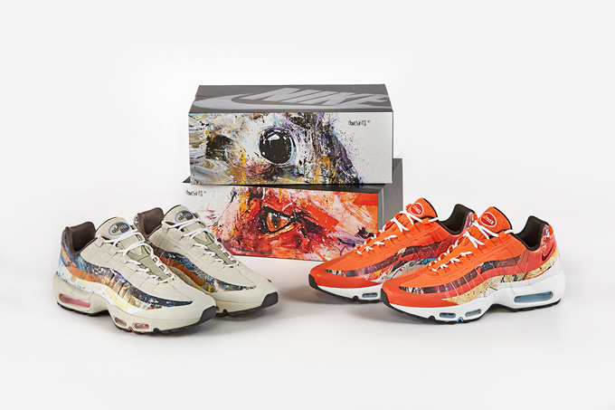 brand new ff429 761fc size? x Dave White x Nike Air Max 95 DW - The Drop Date