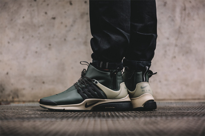 nike air presto mid utility the drop date. Black Bedroom Furniture Sets. Home Design Ideas