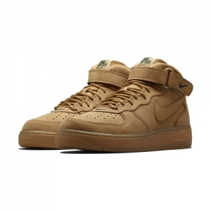 Nike Air Force 1 Mid Flax dlrp